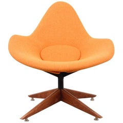 Lounge Chair Attributed to Adrian Pearsall, 1960s, France