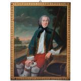 Portrait of a Gentleman, Oil on Canvas