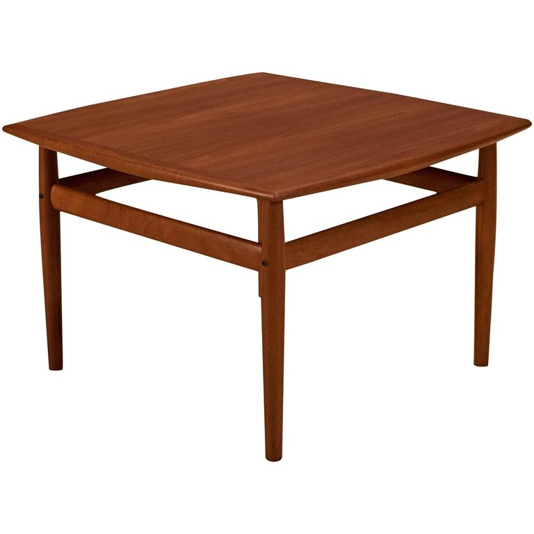 Scandinavian Teak Coffee Table: Danish Teak Grete Jalk Coffee Table For Sale At 1stdibs