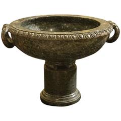 Grand Tour Carved Serpentine Tazza