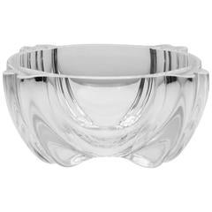 Alfredo Barbini for Oggetti Mod. 73 Clear Blown Glass Bowl, c. 1970