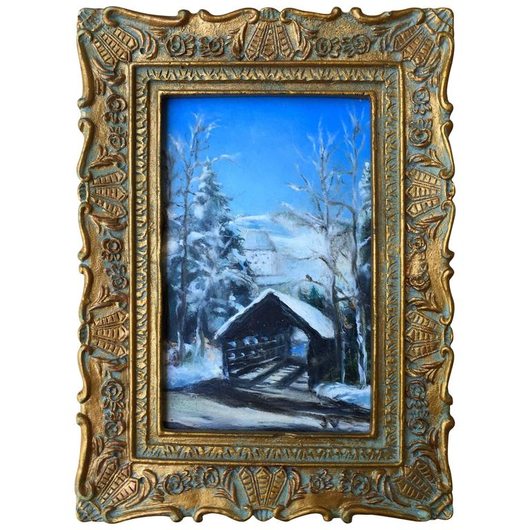 """""""The Covered Bridge, Vail"""" by James Van Fossan For Sale"""