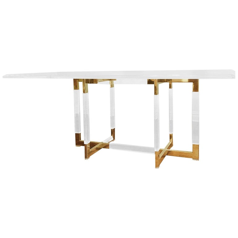 "Charles Hollis Jones ""Metric"" Collection Dining Table For Sale"