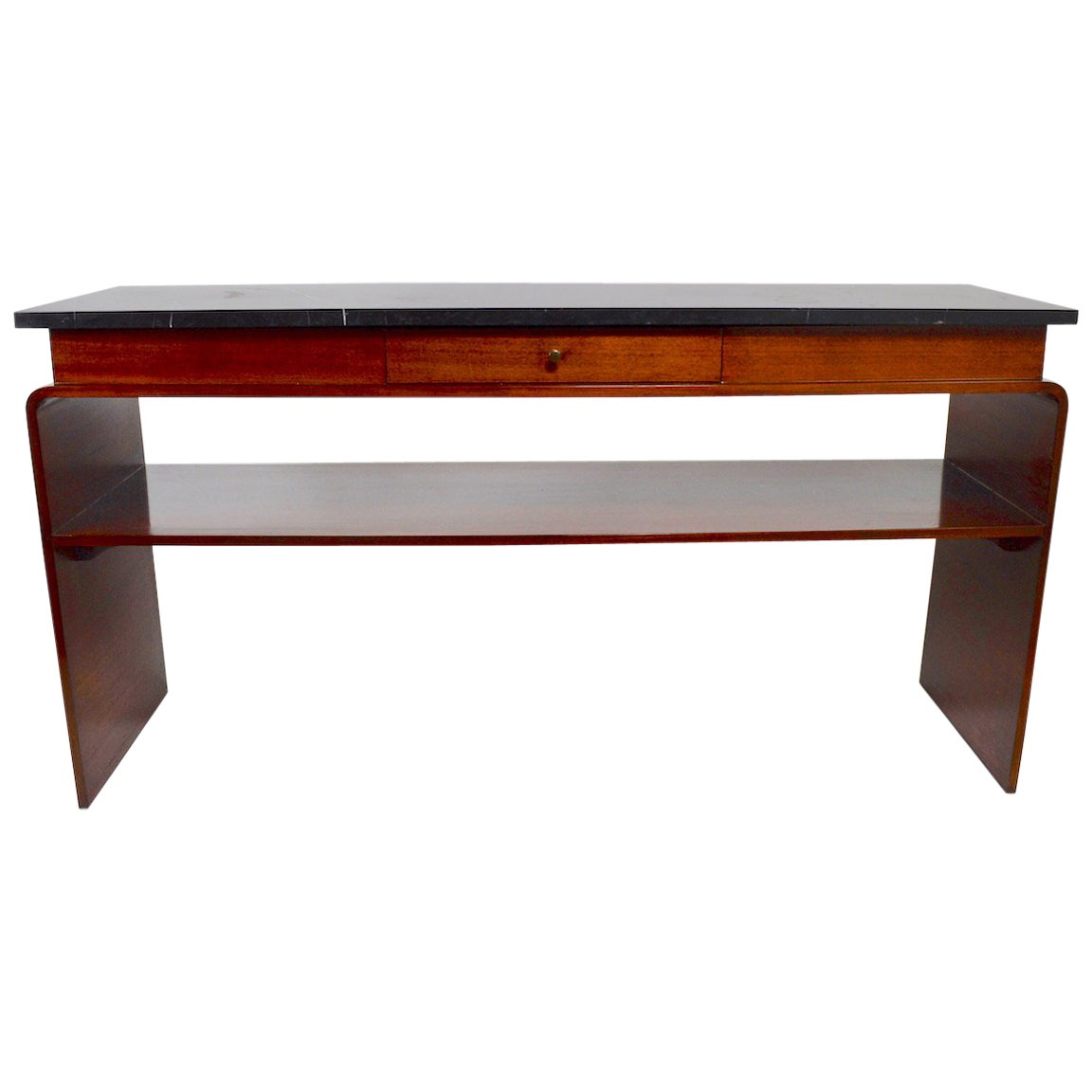 Deco Server with Marble Top