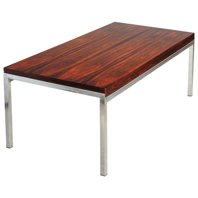 Extension rosewood coffee table by wilhelm renz for sale for Coffee table extension