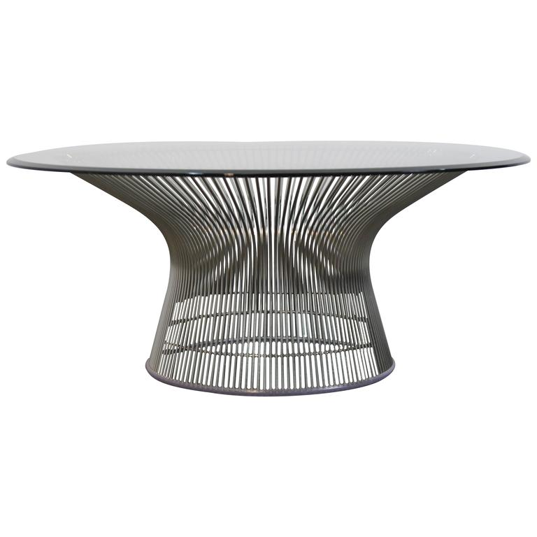 Warren Platner Chrome Coffee Table