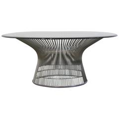 Warren Platner Chrome Coffee Table