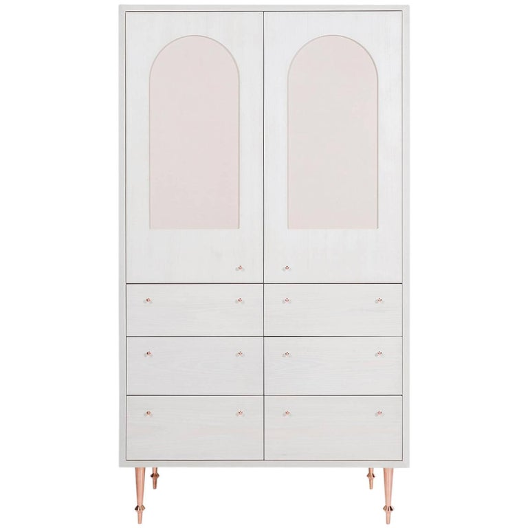 Pacific Armoire by Volk For Sale