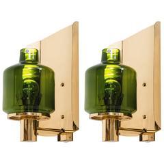 Hans-Agne Jakobsson Wall Lamps Model V-222
