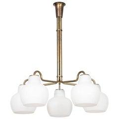 Vilhelm Lauritzen Ceiling Lamp by Louis Poulsen in Denmark