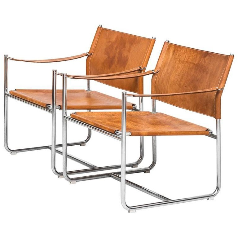 Karin Mobring Easy Chairs Model Amiral by Ikea in Sweden For Sale