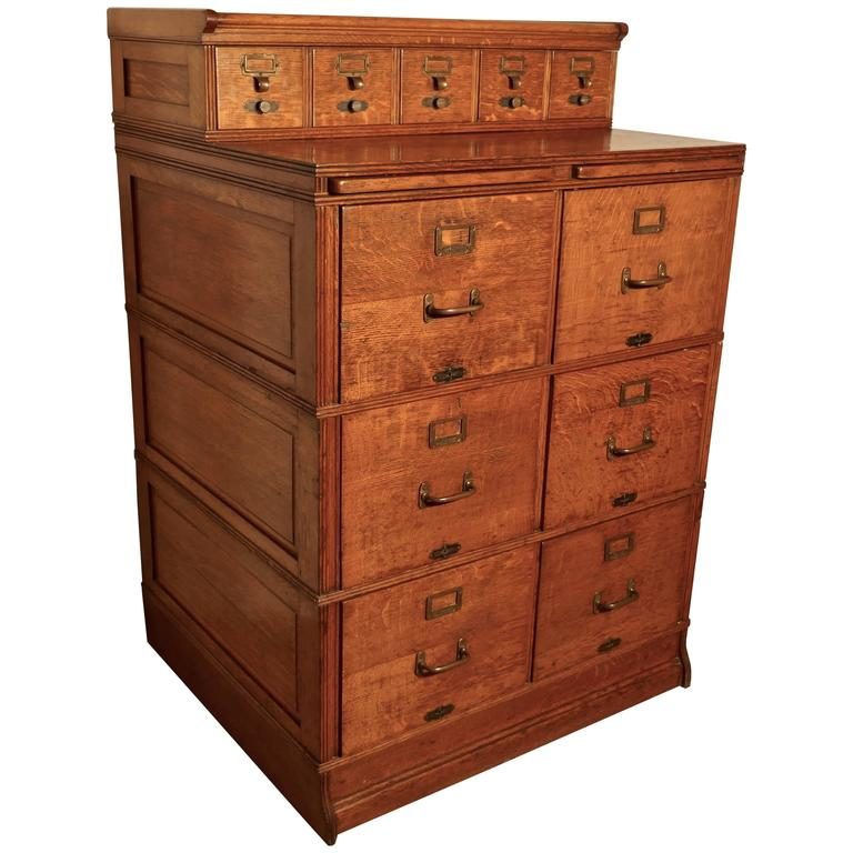 large file cabinet large edwardian 11 drawer oak filing cabinet by shannon at 22476