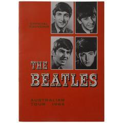Beatles Australian Tour Programme 1964