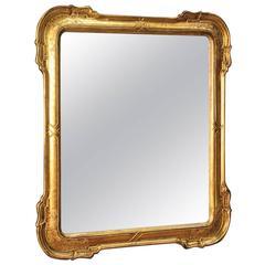 20th Century Italian Mirror in Giltwood