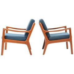 ole wanscher lounge chairs 66 for sale at 1stdibs