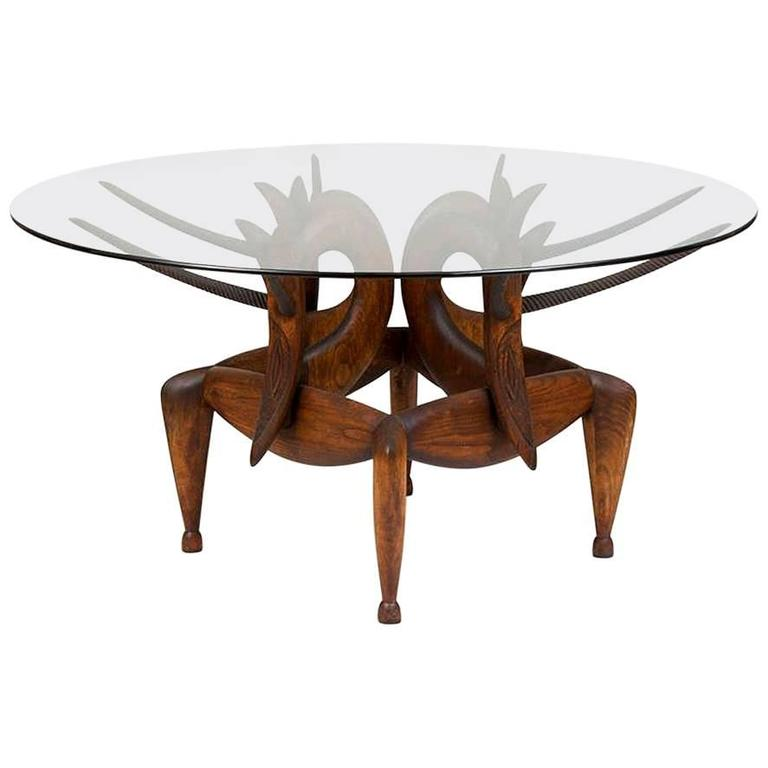 A most beautiful carved table by judy mckie for sale at for Most beautiful dining room tables