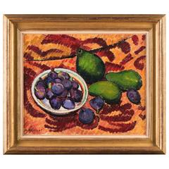 Still Life Avocados Figs