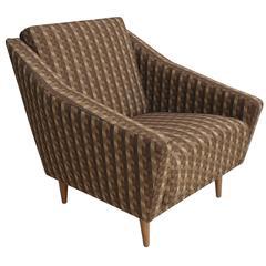 Italian 1950s Armchair in Style of Gio Ponti