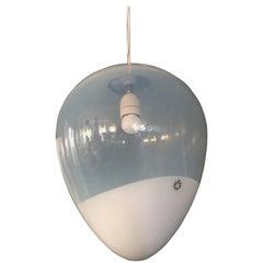 Large Leucos Pendant Light by Giusto Toso, circa 1973