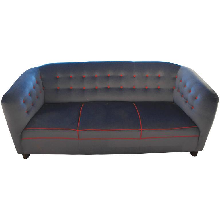 Ole Wanscher Three-Seat Sofa Model 1668