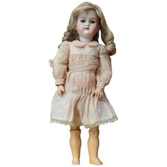 Armand Marseille Antique Bisque Porcelain Doll All Antique Circa 1910