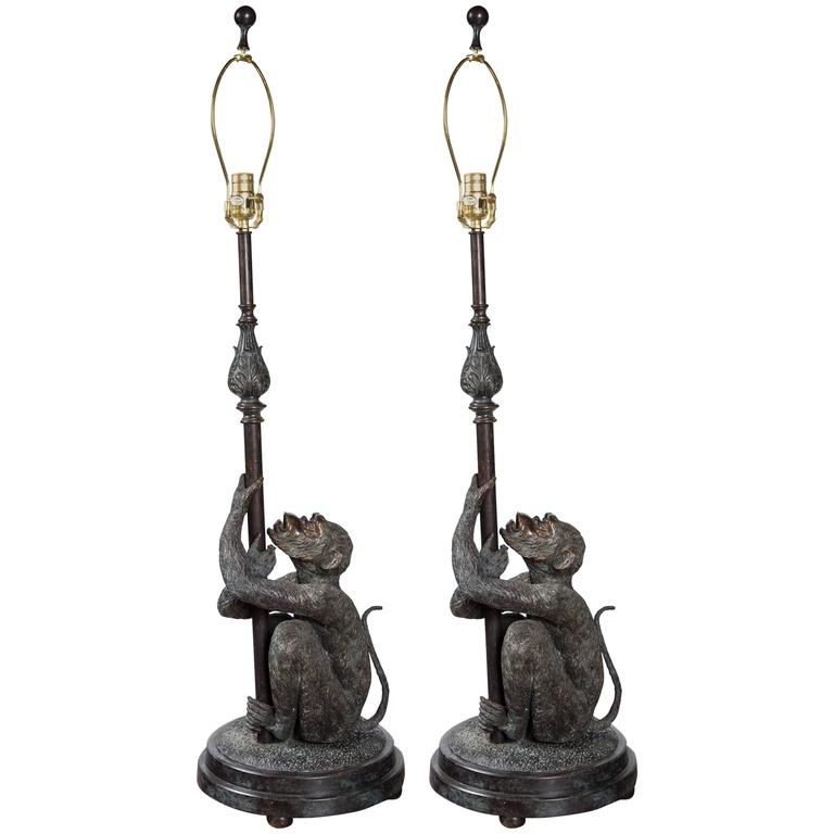 smith of id l pair maitland lamps lighting large table for lamp elephant sale furniture bronze f at by