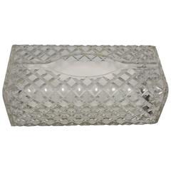 Vintage Lucite Tissue Box