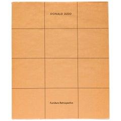 Donald Judd Furniture Retrospective Catalogue
