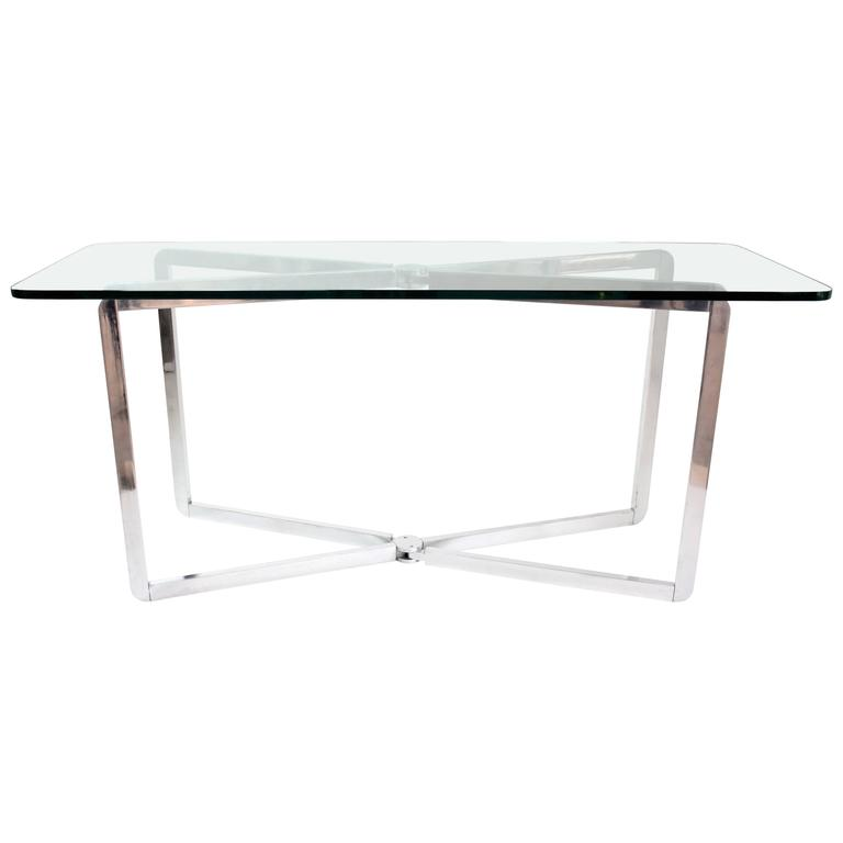 Adjustable Console Table by Michel Boyer, 1970s
