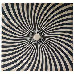1960s Pop Art Wall Print on Canvas in the Manner of Zilia Sanchez