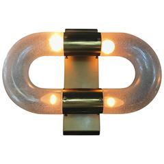 Mid-Century Modern Sconce by Aldo Nason for Mazzega