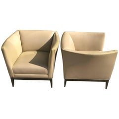 Pair of Lounge Chairs by Don Powell & Robert Kleinschmidt