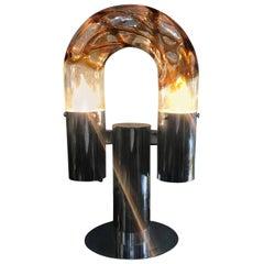 Mid-Century Modern Table Lamp by Aldo Nason for Mazzega
