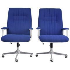 Osvaldo Borsani Office Chairs for Tecno