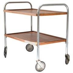 Jacques Hitier 1950s Bar Cart