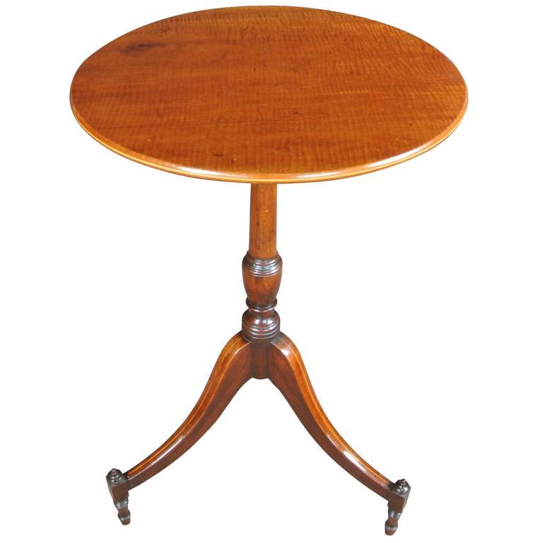 George III Mahogany Wine Table For Sale