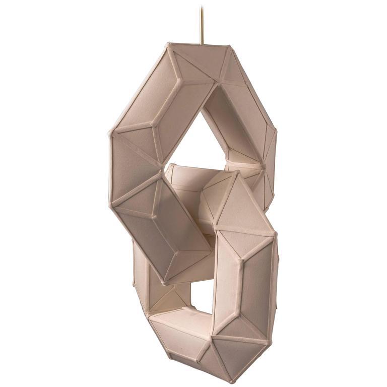 Hyperlink Octagons Chandelier