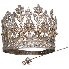19th Century Continental Processional Crown