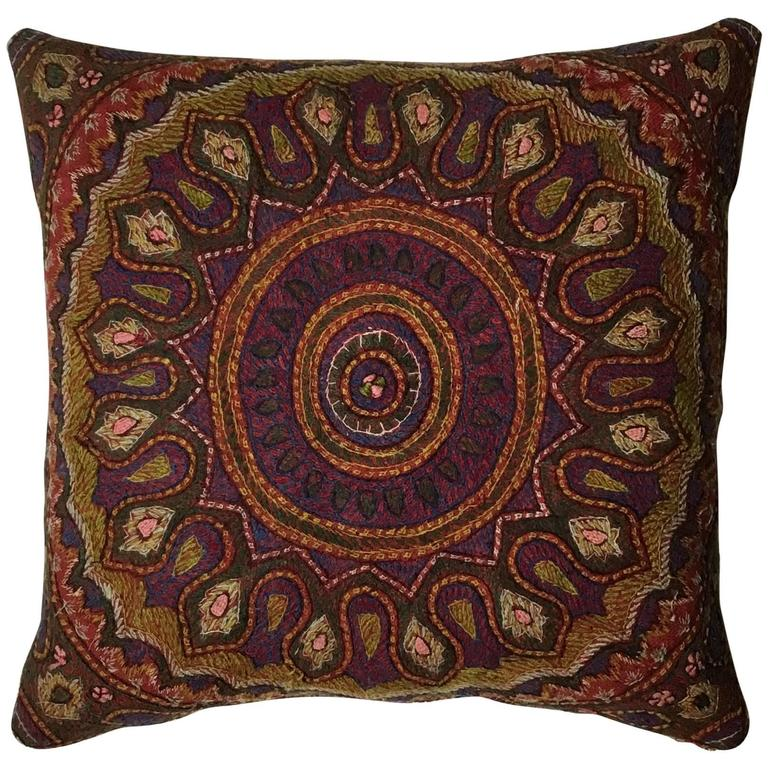Hand Embroidery Persian Suzani Pillow