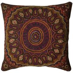 Hand Embroidery Persian Suzani Pillow