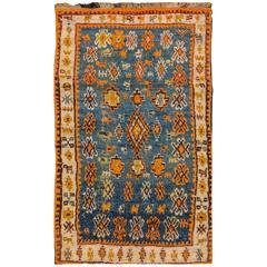 Captivating Superb Antique Moroccan Rug