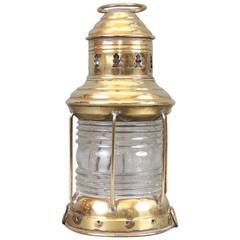 Solid Brass Boat Lantern