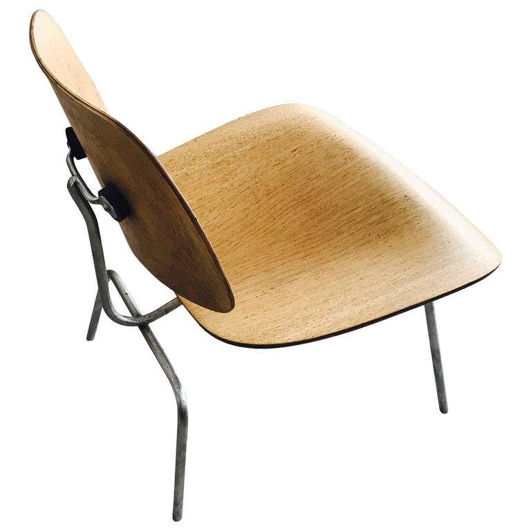 Charles eames lcm iconic chair for herman miller at 1stdibs Iconic chair and ottoman
