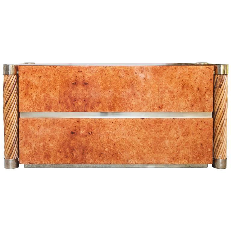 Rare Gabriella Crespi Amboina Dresser Plurimi Series Signed For Sale