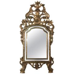 Early 19th Century Italian Giltwood Venetian Mirror