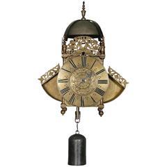Antique Winged Lantern Clock by Thomas Wheeler, London