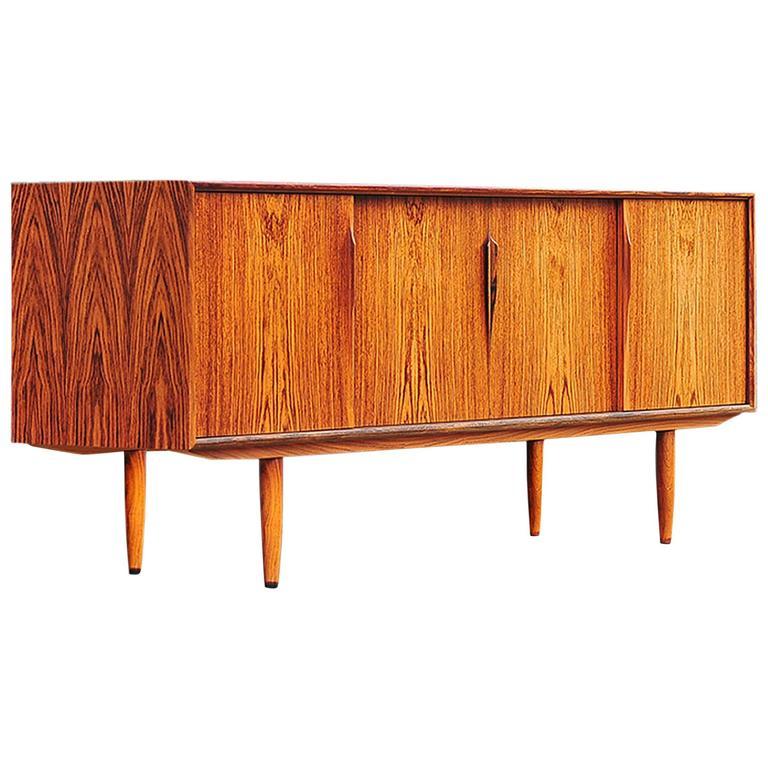 Gunni Omann Rosewood Sideboard or Credenza, Danish Modern For Sale