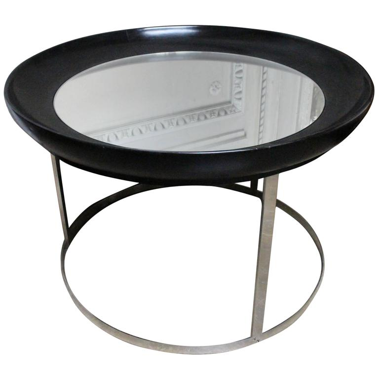 French Round Modern Cocktail Table 1