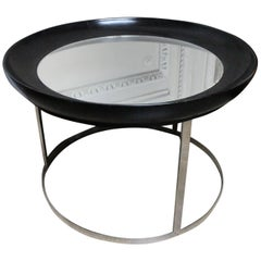 French Round Modern Cocktail Table