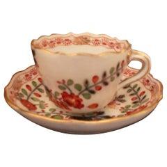 Vintage Meissen Demitasse Cup and Saucer